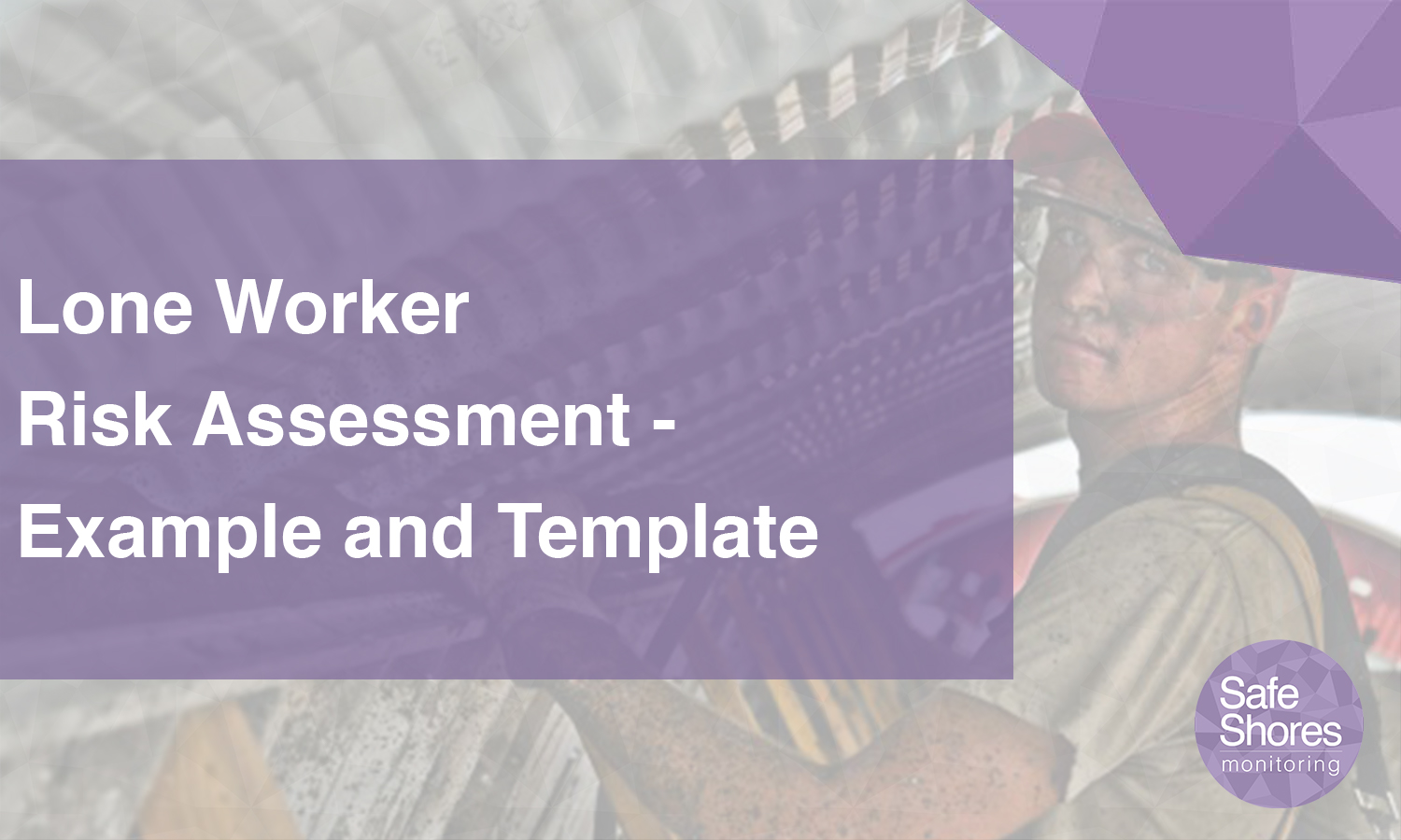 Lone worker risk assessment example