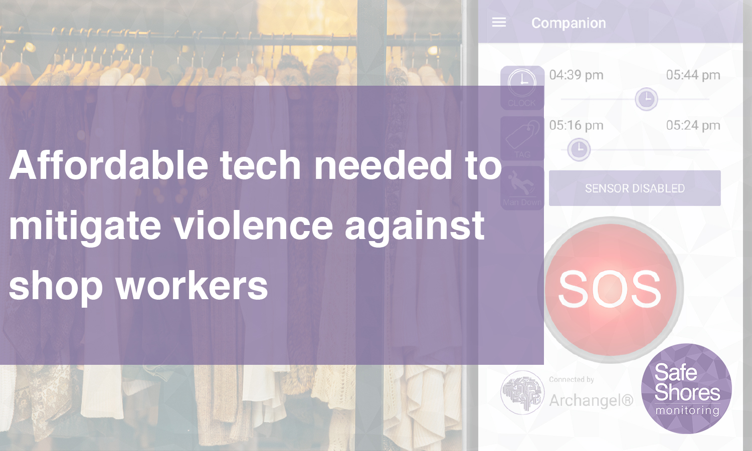 Affordable tech to mitigate shop worker violence