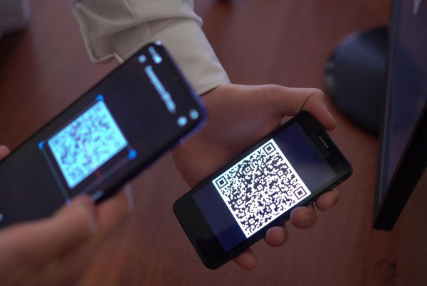 Contact Tracing through scanning QR codes on mobile phones