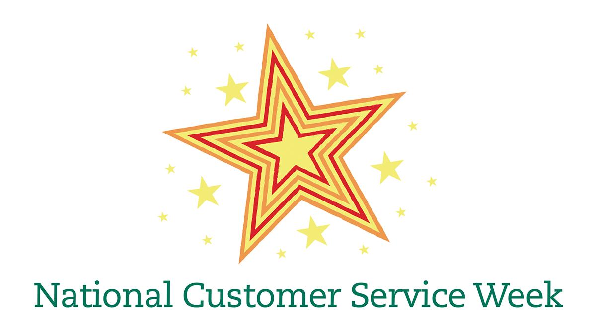 National Customer Service Week Logo