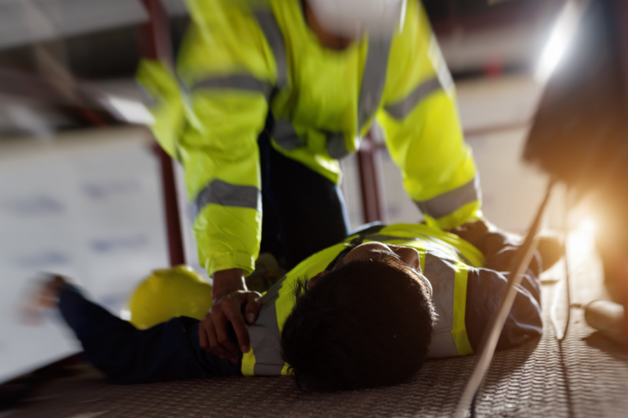 Worker responding to workplace fatalities
